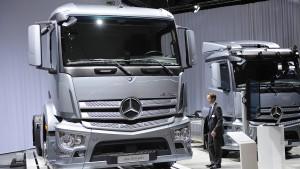Spediteure gehen gegen Lastwagen-Hersteller vor