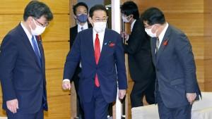 Der Kishida-Schock belastet die Börse in Tokio