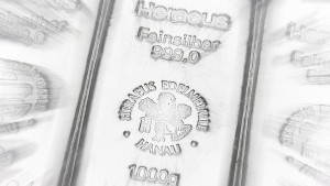 Nie mehr Silberpreise aus London