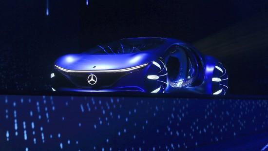 Mercedes stellt futuristisches Auto vor