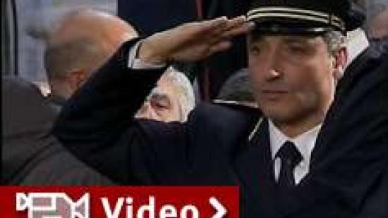 Trauerzeremonie für italienischen Polizisten