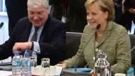 Keine Annäherung zwischen Merkel und DGB