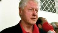 """Bill Clinton """"wieder auf den Beinen"""""""