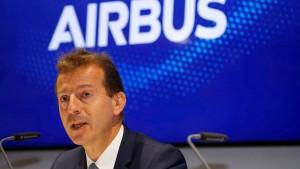 Airbus-Chef Faury warnt vor Flugzeugzöllen