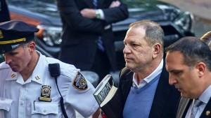 Weinstein wegen Vergewaltigung angeklagt