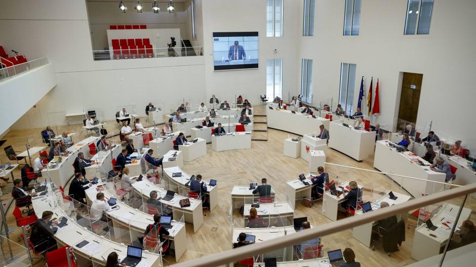 Der Landtag in Potsdam am Mittwoch, 16. Juni 2021