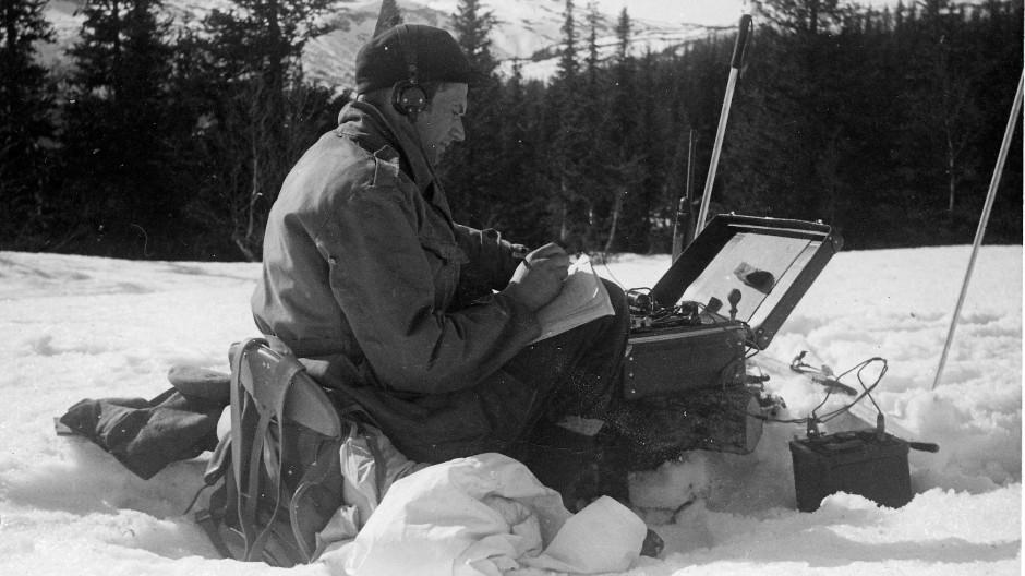 Widerstandskämpfer Claus Helberg hält im besetzten Norwegen Kontakt mit der britischen Sondereinsatztruppe SOE.