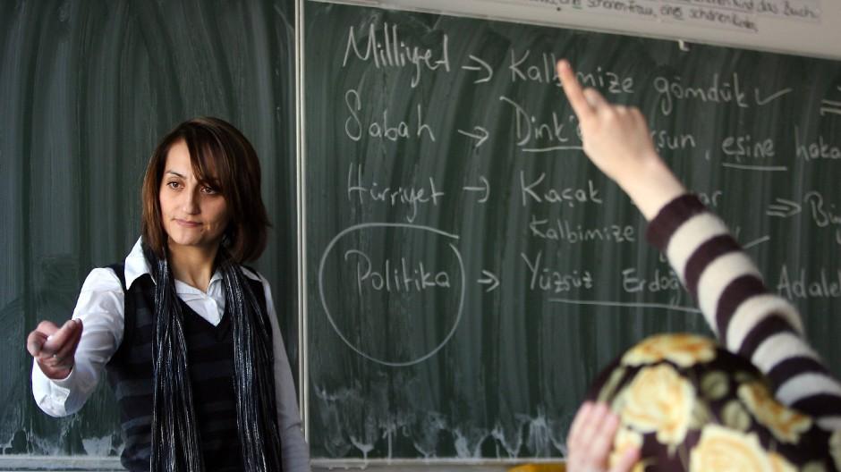 Türkisch hat es nicht als zweite oder dritte Fremdsprache in Hessens Klassenzimmer geschafft.