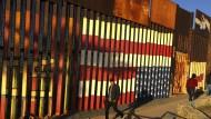 Die amerikanisch-mexikanische Grenze, hier in der Stadt Tijuana