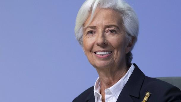 Christine Lagarde lässt nichts aus
