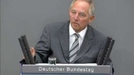 Eklat bei Debatte über Schäuble
