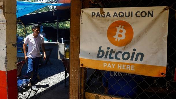 Bitcoin ist offizielles Zahlungsmittel in El Salvador
