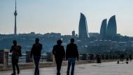 Der falsche Ort für das Endspiel? Aserbaidschans Hauptstadt Baku.