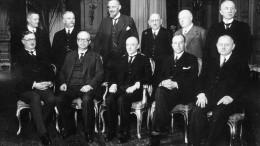 Das erste Präsidialkabinett regiert