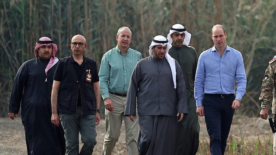 Prinz William zu Besuch in Kuwait