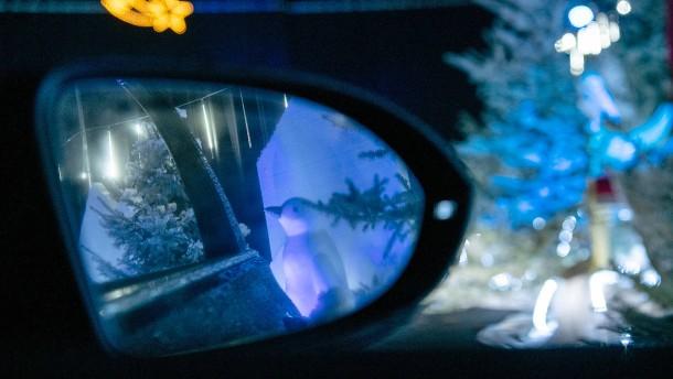 """Der """"Drive-In""""-Weihnachtsmarkt"""