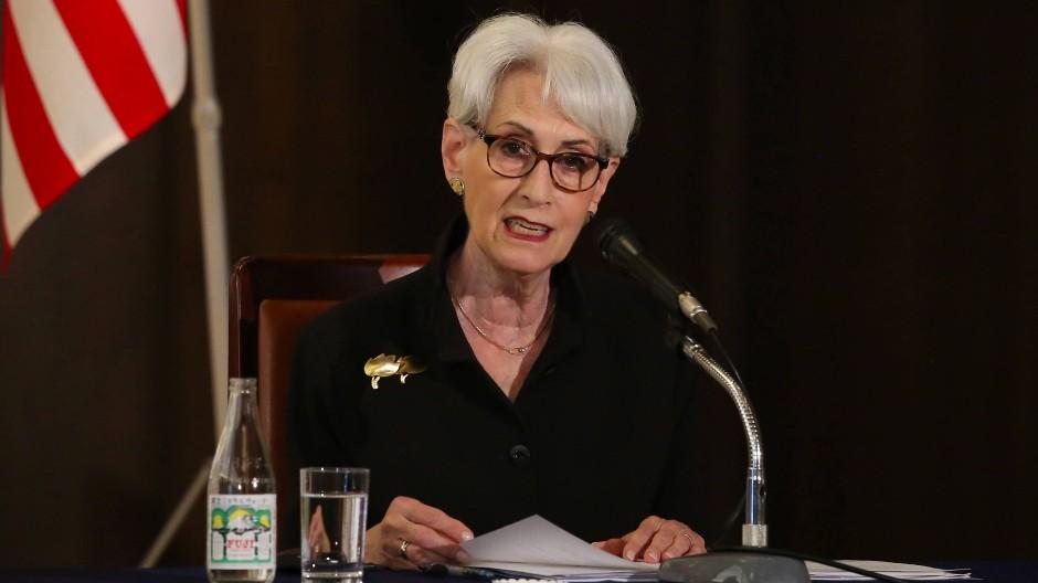 Wendy Sherman, stellvertretenden US-Außenministerin