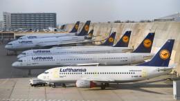 Brand am Frankfurter Flughafen