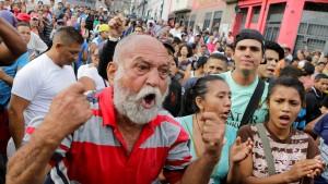 Proteste gegen Regierung in Caracas
