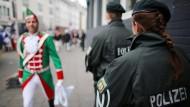 Städte setzen viel mehr Polizei beim Karneval ein