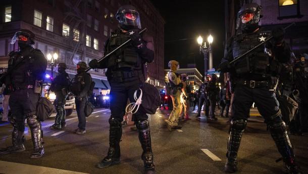 Proteste in Nordamerikas Städten weitgehend friedlich