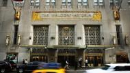 Juwel der Hotellerie: Das traditionsreiche Waldorf-Astoria gehört einem chinesischen Konzern.