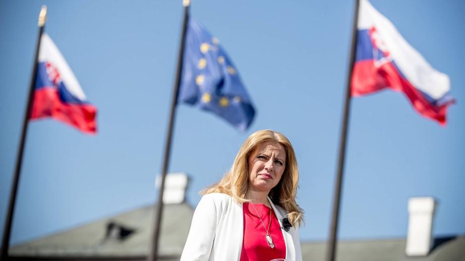 Čaputová, geschiedene Mutter zweier Töchter, ist liiert mit dem Fotografen und Musiker Petr Konečný, den sie im Wahlkampf als ihre große Stütze bezeichnete.