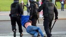 Polizei geht abermals hart gegen Demonstranten vor