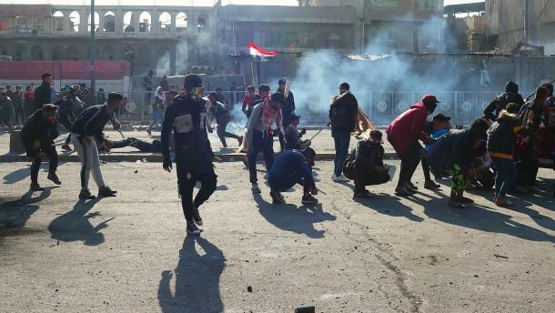 Proteste im Irak gehen weiter