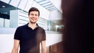 Der Maschinenbauer Thomas Kec durchläuft derzeit das internationaleTraineeprogramm bei Roche Diagnostics.