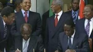 Annan bewegt Odinga und Kibaki zum Kompromiss