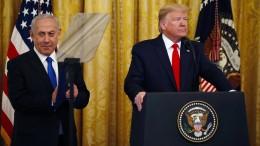 """Netanjahu rühmt Trumps """"Jahrhundertdeal"""""""