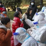 Massentests:Mit Tausenden Abstrichen in wenigen Tagen will die Stadtregierung in Shijiazhuang den Corona-Ausbruch schnell wieder in den Griff bekommen.
