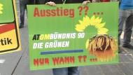 Grüne für schwarz-gelbes Atomgesetz