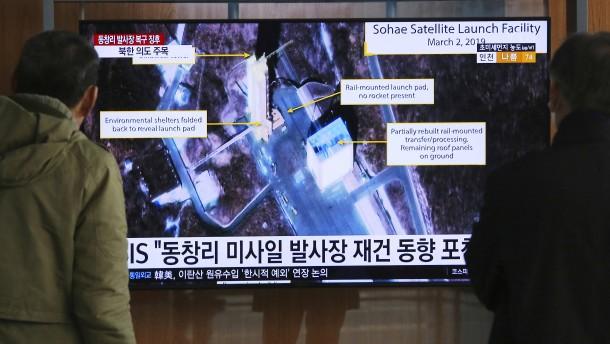 Nordkorea meldet weiteren Test auf Raketen-Start-Anlage