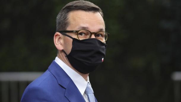 Morawiecki droht mit Veto gegen EU-Haushalt