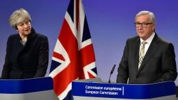 Keine Einigung zwischen EU und Großbritannien