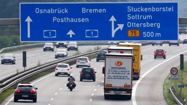 Autobahnbetreiber A1 trägt das volle Geschäftsrisiko