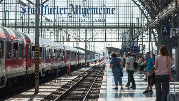 Wann am Frankfurter Hauptbahnhof die Züge still stehen