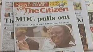 Tsvangirai flieht in niederländische Botschaft