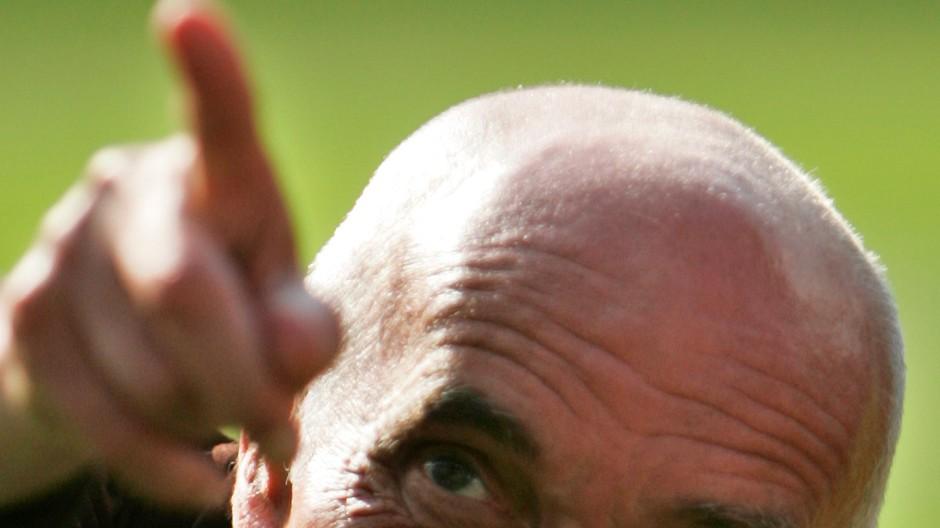Nicht mit dem Finger auf andere zeigen: Martin Kind, Präsident von Hannover 96