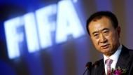 Neuer Spielmacher: Wang Jianlin gehört mit seiner Wanda-Gruppe zu den wichtigsten Sponsoren der Fifa.