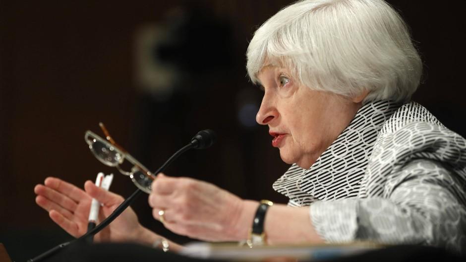 Janet Yellen, Chefin der amerikanischen Notenbank Federal Reserve
