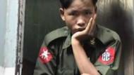 Burmas Armee rekrutiert angeblich Kindersoldaten