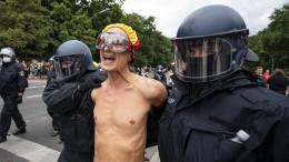 Knapp tausend Festnahmen bei Protesten in Berlin
