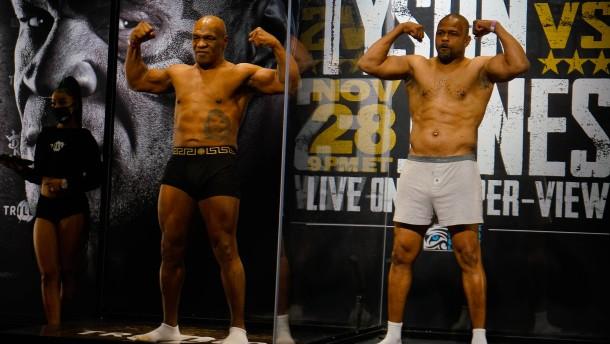 Der ominöse Showkampf zweier Box-Rentner
