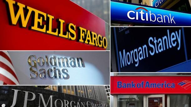 Amerikas Banken zahlen am meisten