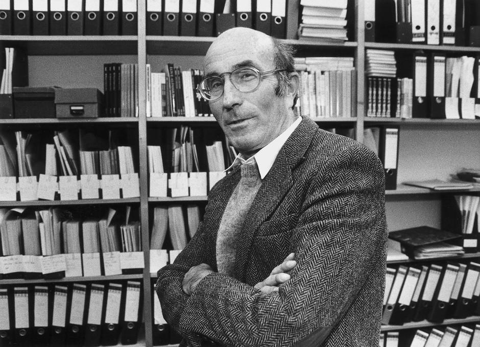 Verstarb 1998: Der Bielefelder Soziologe Niklas Luhmann.