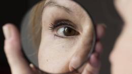Große Augen machen