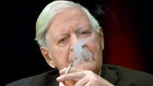 Das Aus für Helmut Schmidts geliebte Mentholzigarette